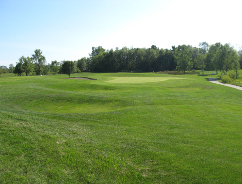 View of the course at The Links at Rolling Meadows in Holland, Michigan
