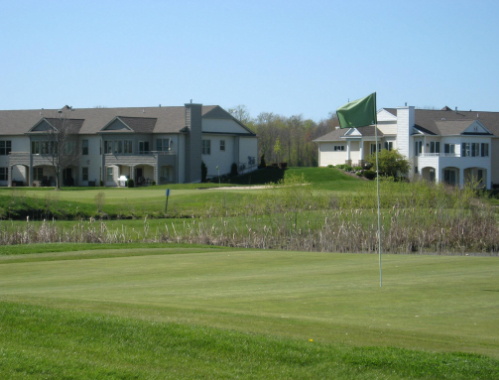 Image of a hole on the course at The Links at Rolling Meadows in Holland, Michigan